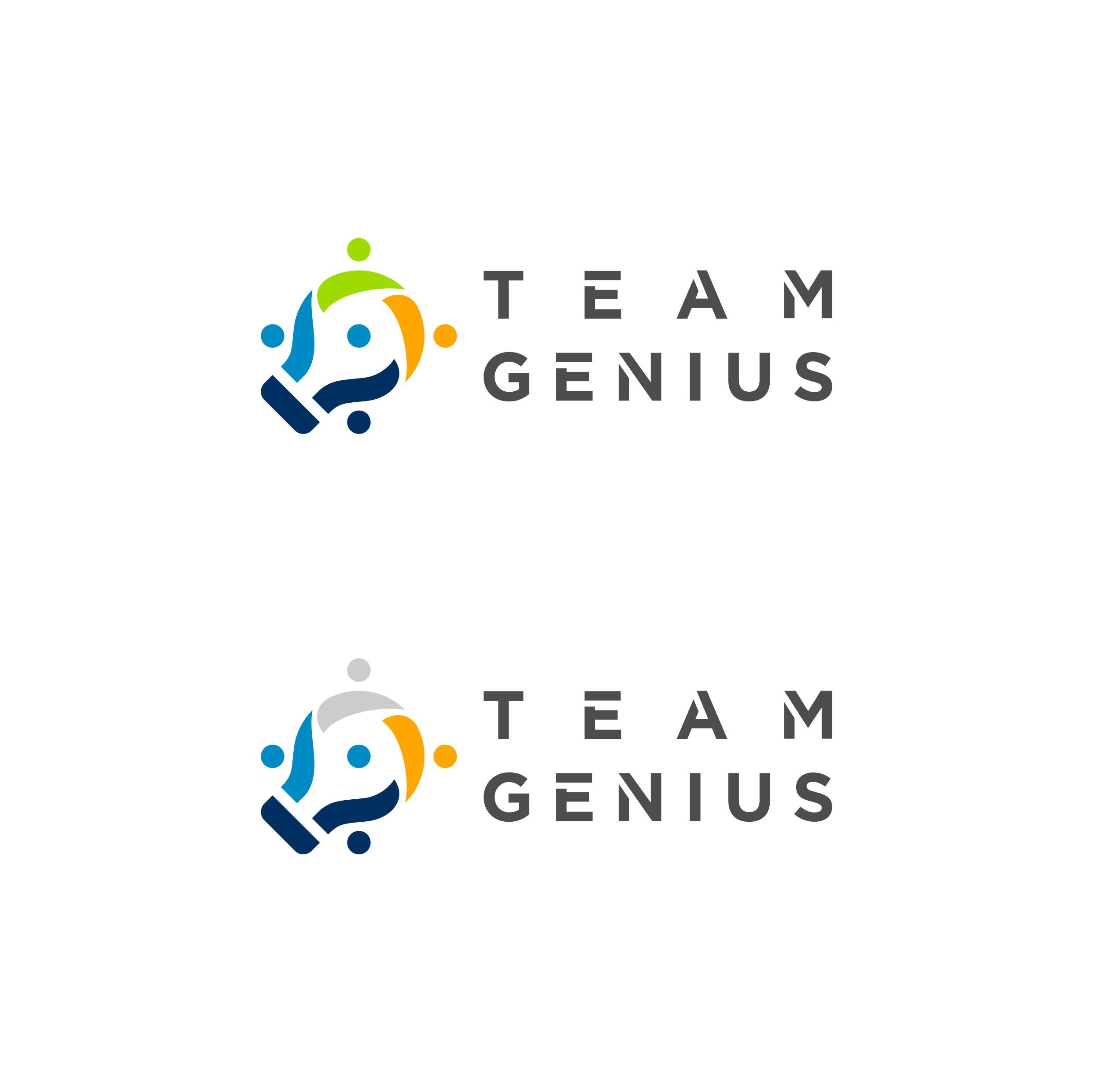 Team Genius Logo Design