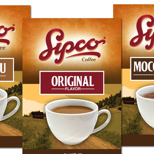 Sipco Coffee needs creative packaging