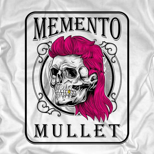 design Fun T Shirt for Memento Mullet