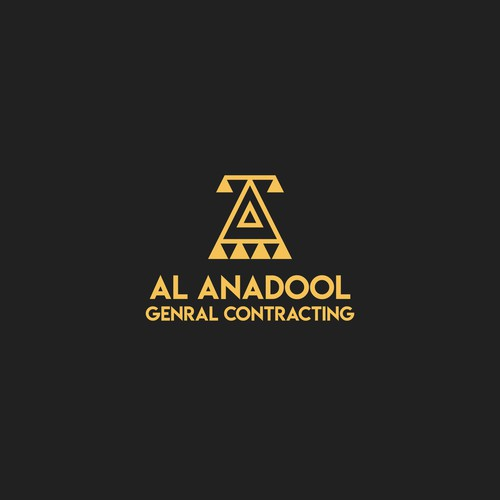 Construction logo with anatolian traditionals motif