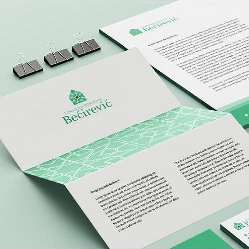 Bećirević Family Foundation visual identity design