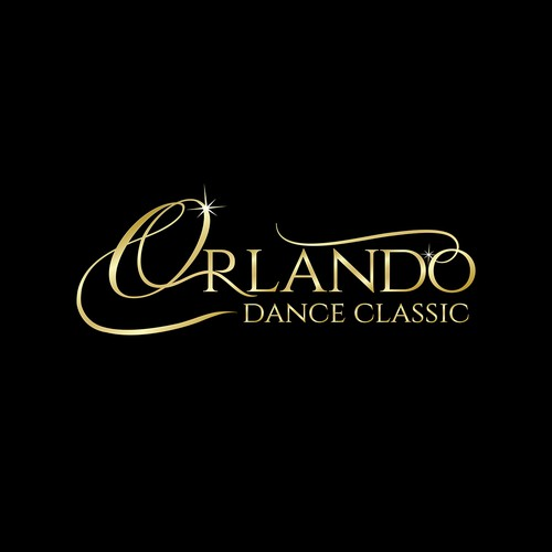 Create an elegant Ballroom Dance Competition logo