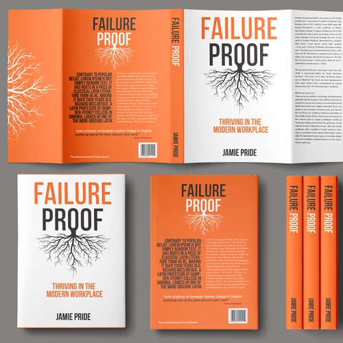 Failure proof book cover