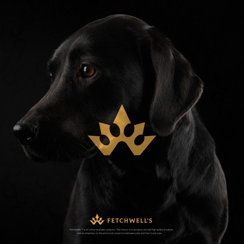 Logo for high-end pet products