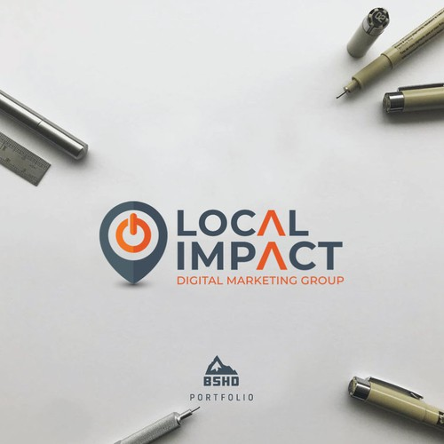 Local Impact needs to improve their current logo