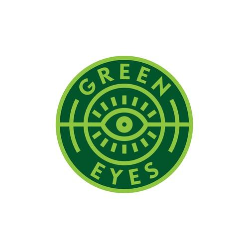 Badge style DJ logo
