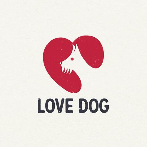Love Dog Logo