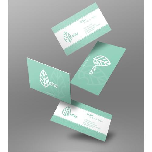 Ocha - Business card
