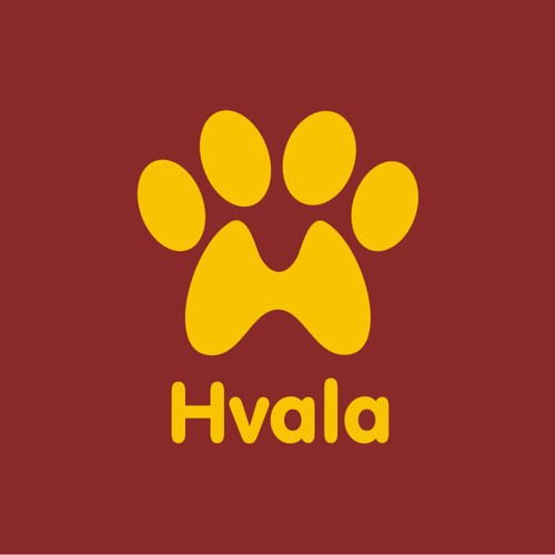 99nonprofits: Logotype for charity Hvala - for the dogs and cats of the Balkans