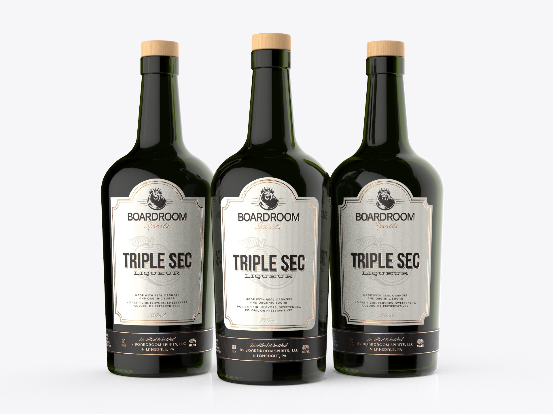 Timeless Label Needed for Liqueur Product Category