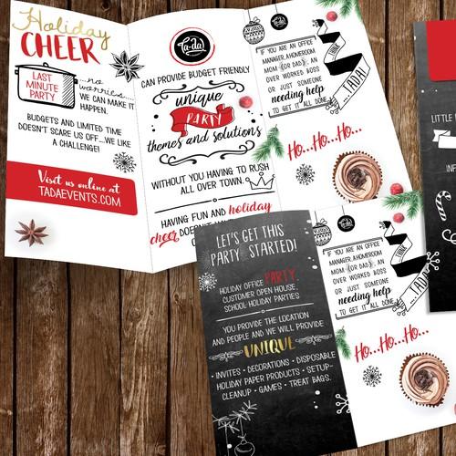 Creative Xmas brochure