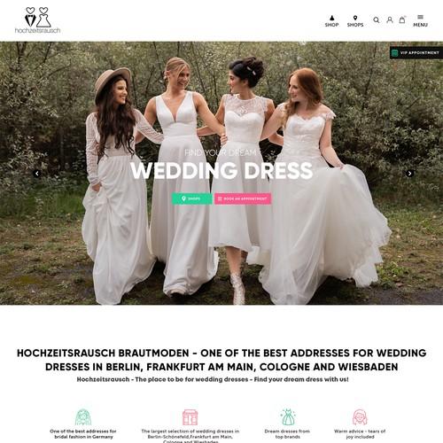 hochzeitsrausch Brautmoden