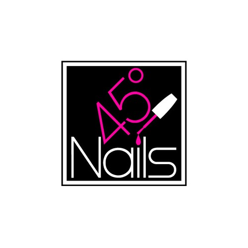 logo for 45° Nails