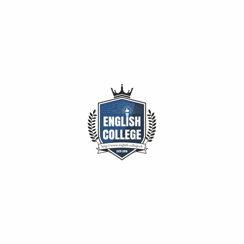 Classic Logo for English College