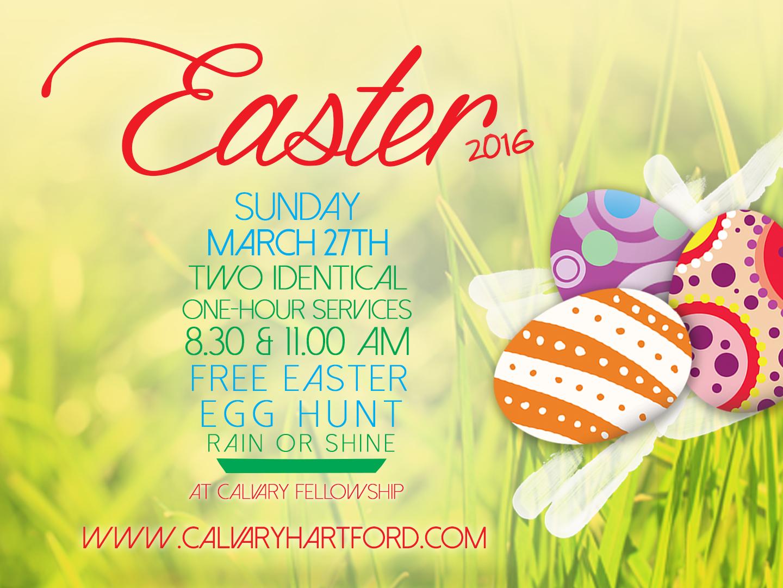 Artwork for Easter Service