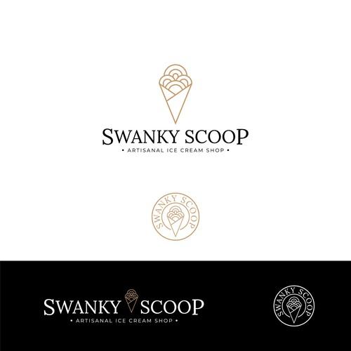 Swanky Scoop Logo