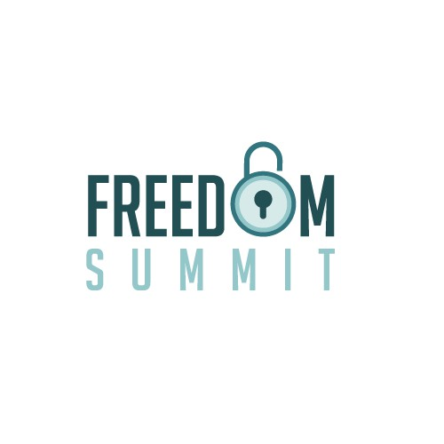 Design the first ever logo for the Freedom Summit, to be seen by thousands!