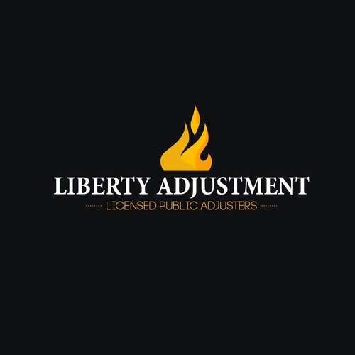 Liberty Adjustment Logo design