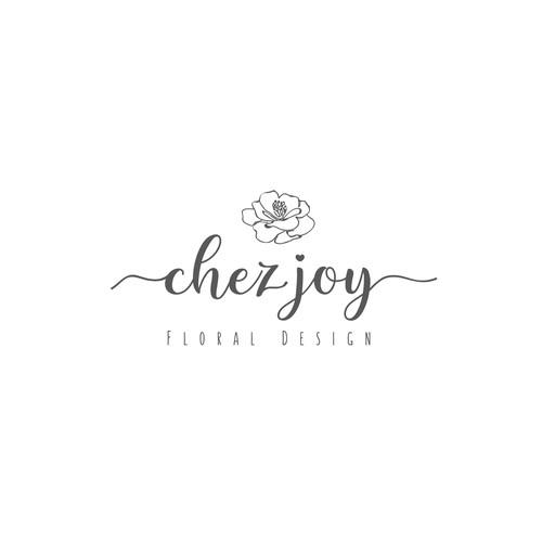 chez joy studios logo design