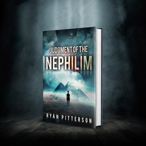 Book cover design - Judgement of the Nephilim