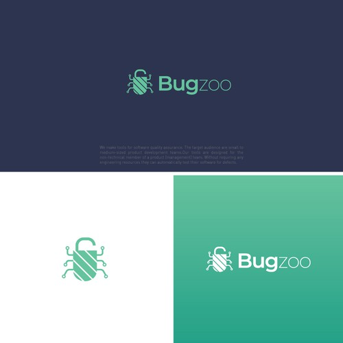 Logo for a software quality assurance