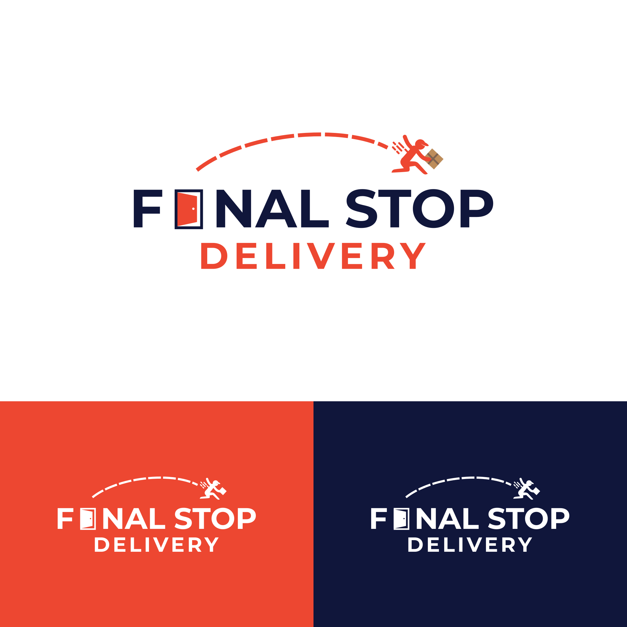 Fast and Convenient Package Delivery Logo