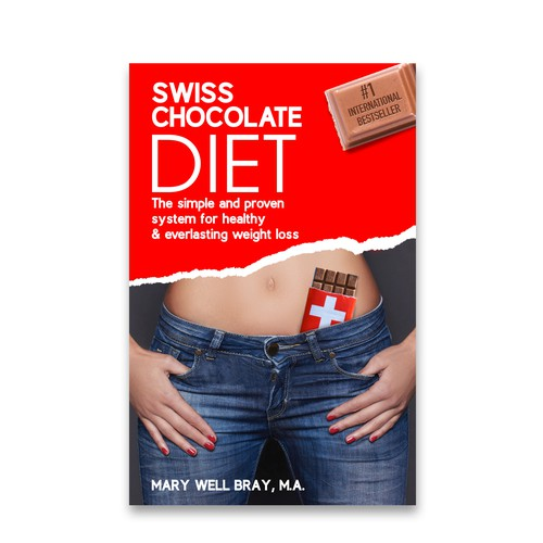 "Book Cover for ""SWISS CHOCOLATE DIET"""
