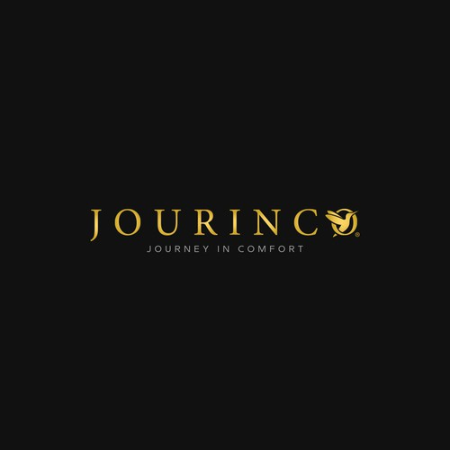 "modern and sophisticated logo for travel gear ""Jourinco"""