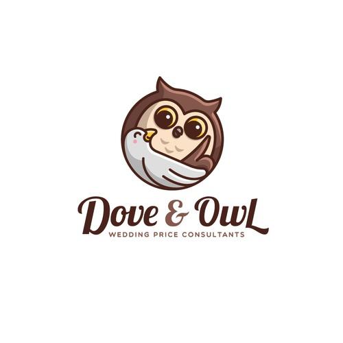 Dove & Owl Logo