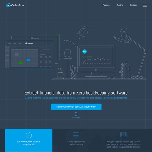 Web Design for Financial Company