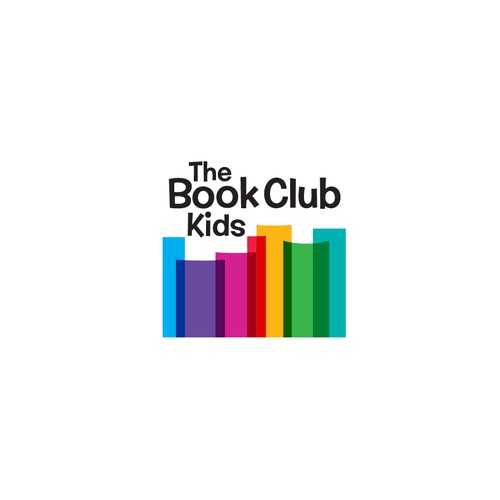 Logo for kids' book club