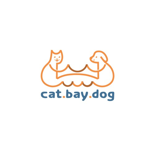 Bold logo for CAT.BAY.DOG