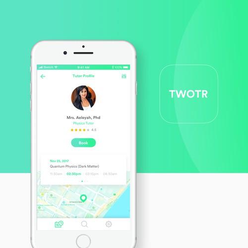 TWOTR App Concept