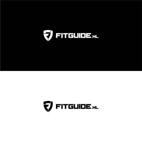 geometric logo concept for fitguide