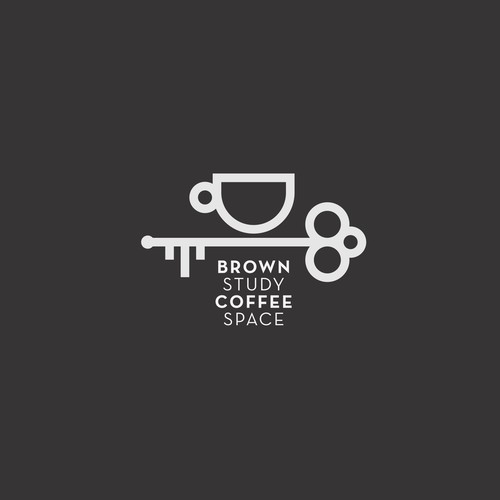 Logo for Brown Study Coffee Space
