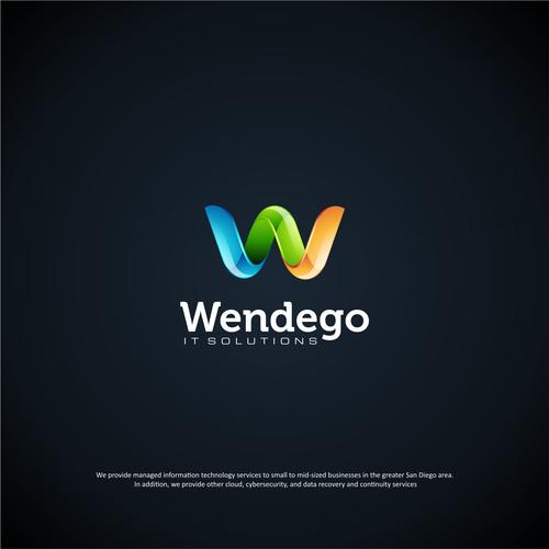 W letter logo concept