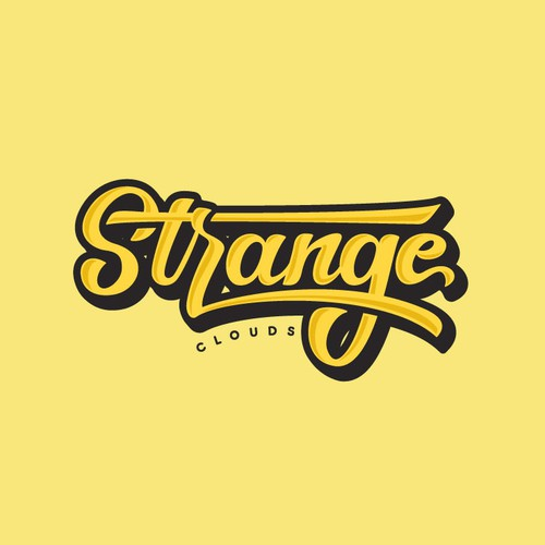 Strange Clouds Logotype