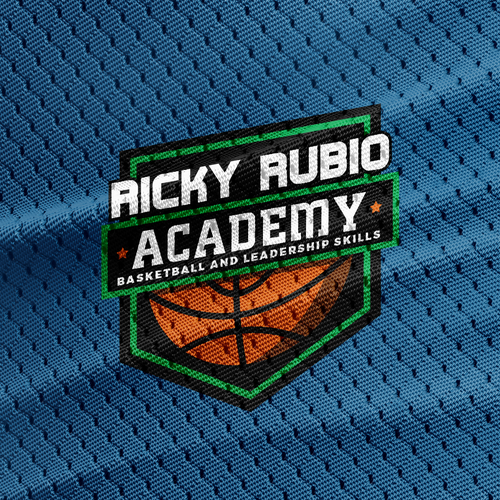Logo concept for basketball camp