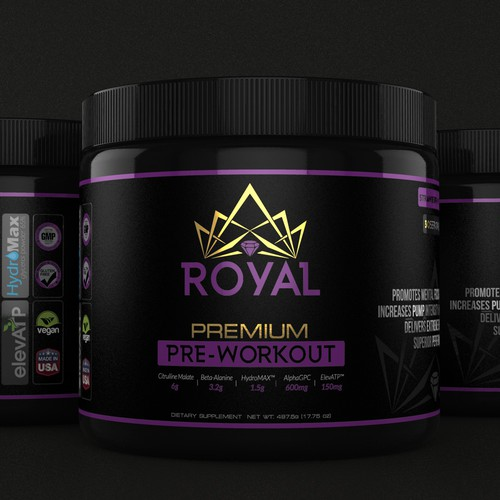 Royal Pre-Workout Design