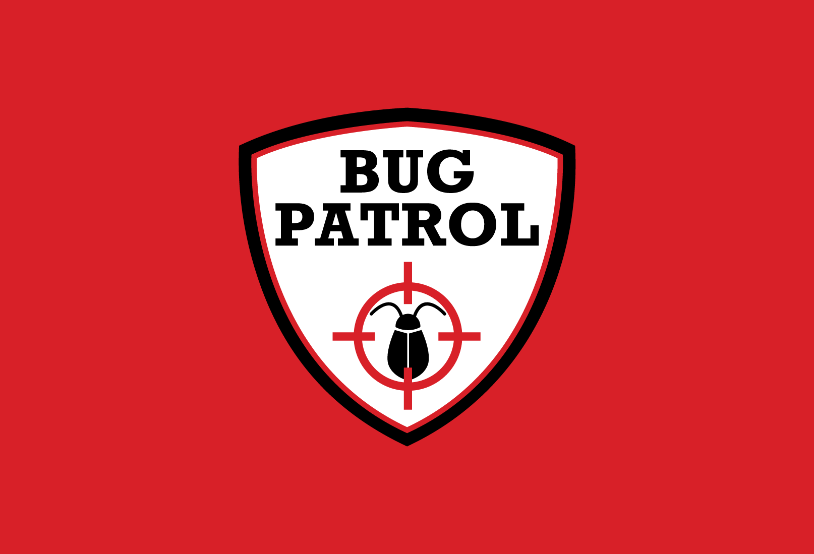 Create the next logo for Bug Patrol