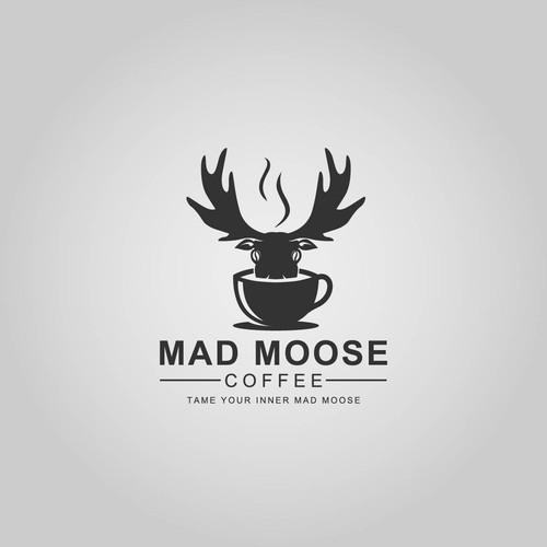 Mad Moose Coffee Logo