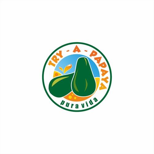 papaya juice logo