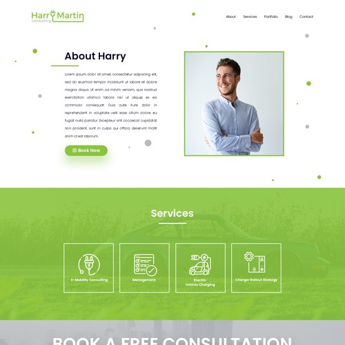 Consultant Page