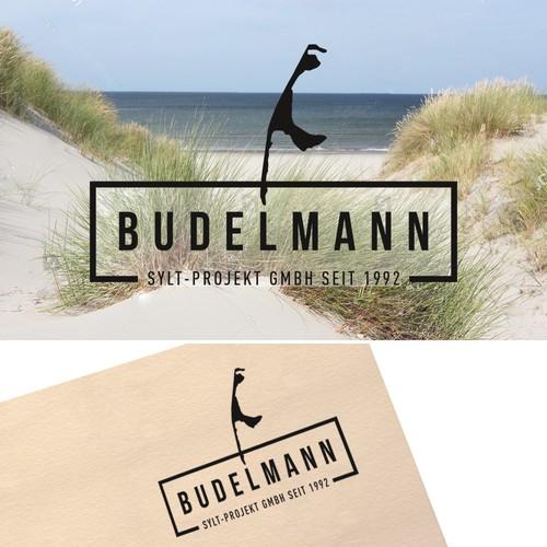 """Modernes und anspruchsvolles Logo für die """"Budelmann Sylt-Projekt GmbH"""""""