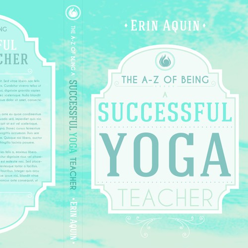 Design a Book cover for Aquin Yoga
