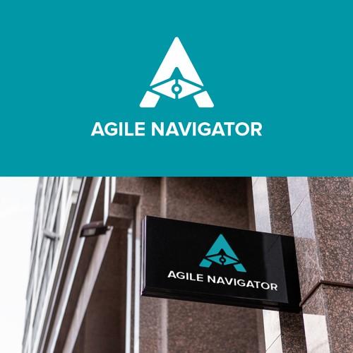 Agil Navigator Logo Design