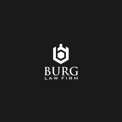Burg Law Firm logo design