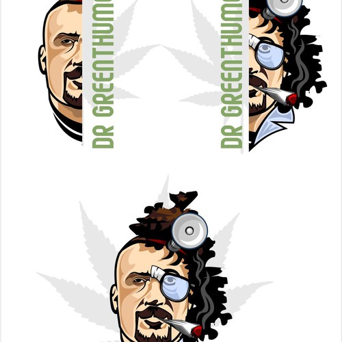 Create B Real of Cypress Hill logo for Dr. Greenthumb!!