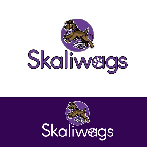 Skaliwags Pet Acessory Store Logo Concept