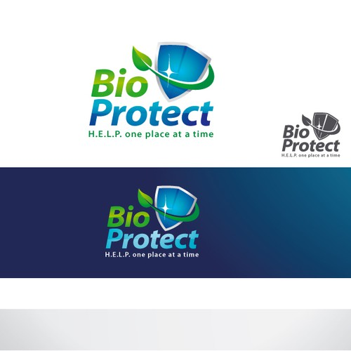 BioProtect Logo Design
